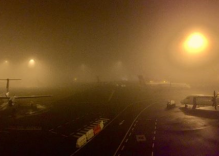 Why the fog is my flight delayed?
