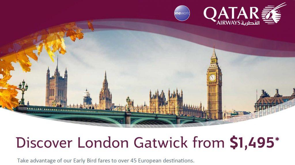 Qatar Gatwick 1495