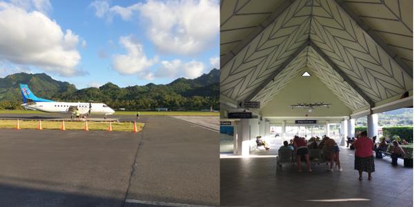 Raro airport