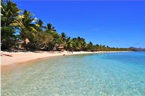 Yasawa Islands blue lagoon