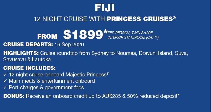 Fiji 12 nights