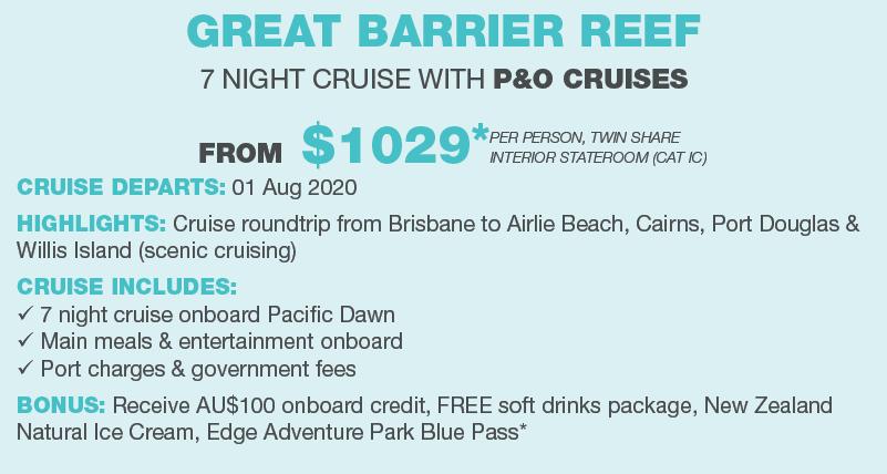 Great barrier reef 7 nights