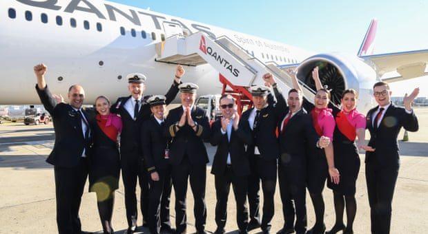 Qantas makes history with JFK – SYD flight – Operation Sunrise
