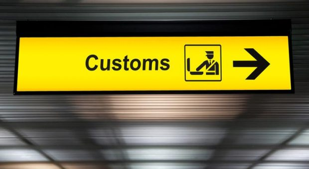 On arrival in New Zealand – CUSTOMS