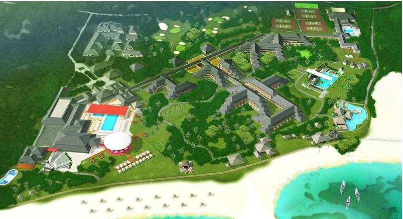 Bali resort map